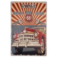Plaque vintage Voiture américaine Garage Service Repair