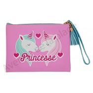 Pochette message Princesse Licorne