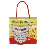 Mug message Maman super chouette