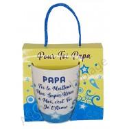 Mug message Papa t'es le meilleur