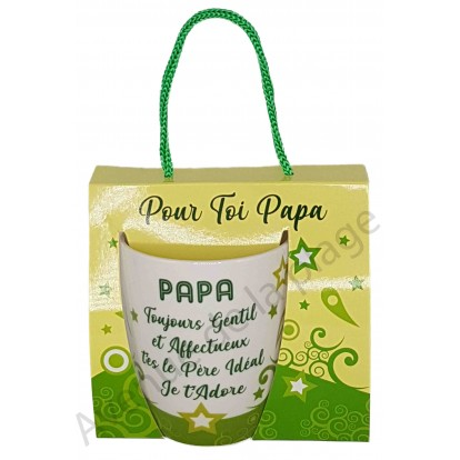 Mug message Papa idéal