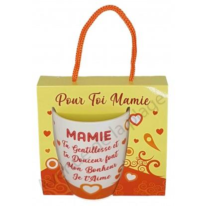 Mug message Mamie gentille