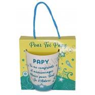Mug message Papy je t'adore