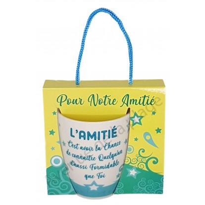 Mug message L'Amitié formidable