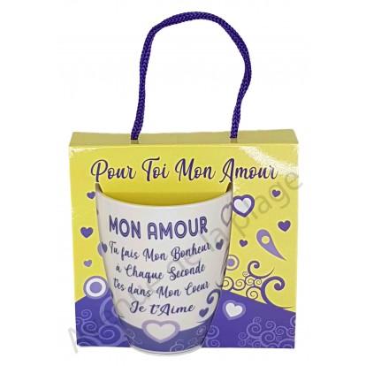 Mug message Mon Amour tu fais mon Bonheur
