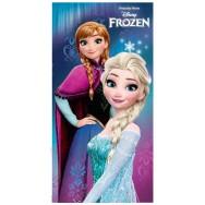 Drap de plage Reine des Neiges Elsa et Anna