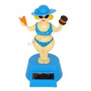 Bikini Lady solaire dansante