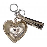Porte clé message Mamie d'Amour