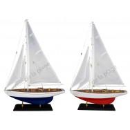 Maquette de voilier Régate 40 cm