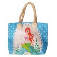 Mini sac de plage pour enfant Sirène