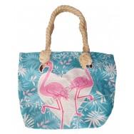 Mini sac de plage pour enfant Flamant rose