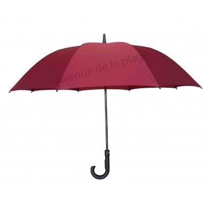 Parapluie résistant au vent rouge