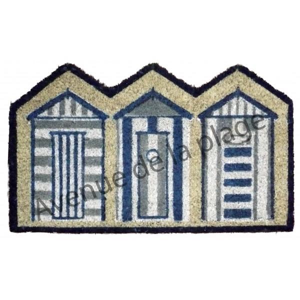 tapis paillasson cabines de plage achat vente d coration marine pas cher. Black Bedroom Furniture Sets. Home Design Ideas