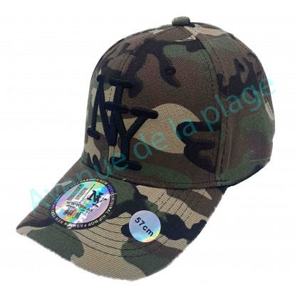 Casquette NY militaire camouflage
