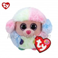 Peluche Ty Puffies Rainbow le caniche