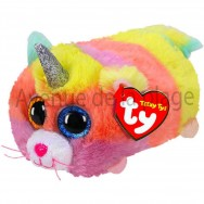 Peluche Teeny Ty Heather le chat licorne