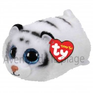 Peluche Teeny Ty Tundra le tigre blanc