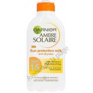 Crème solaire Garnier FPS 15 en lait 200 ml
