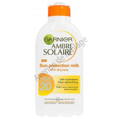 Crème solaire Garnier FPS 20 en lait 200 ml