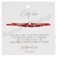 Bracelet souhait Self-Love étoile