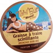 Graisse à traire scintillante au Monoï parfum Tiaré