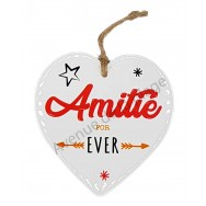 Coeur message Amitié for Ever