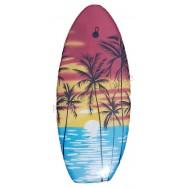 Bodyboard surf couché de soleil pour enfant