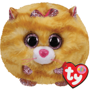Peluche Ty Puffies Tabitha le chat roux