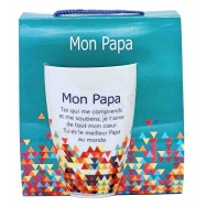 Mug message Mon Papa