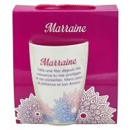 Mug message Marraine