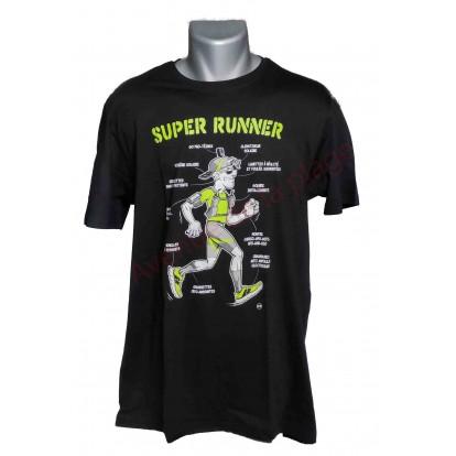 "T-shirt humoristique ""Super Runner"""