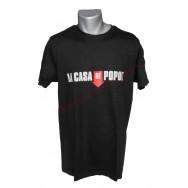 """T-shirt humoristique """"La Casa de Popol"""""""