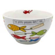 Bol Les petits poissons dans l'eau