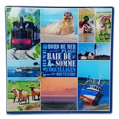 Dessous de plat Baie de Somme - Bord de mer