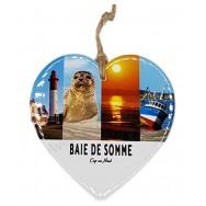 Coeur Baie de Somme - Cap au Nord à suspendre