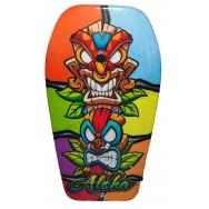Bodyboard 2 tiki Aloha pour enfant