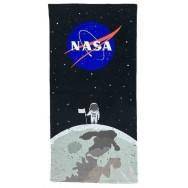 Serviette de plage NASA homme sur la lune