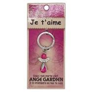 Porte clé Ange gardien Je t'Aime