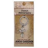 Porte clé Ange gardien Joyeux Anniversaire