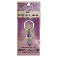 Porte clé Ange gardien Ma Meilleure Amie