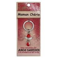 Porte clé Ange gardien Maman Chérie