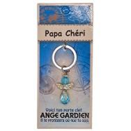 Porte clé Ange gardien Papa Chéri