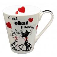Mug C'est Chat l'Amour
