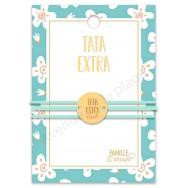 Bracelet message médaillon Tata Extra