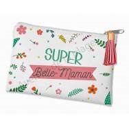 Porte monnaie message Super Belle-Maman