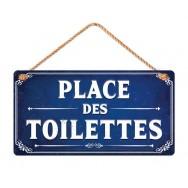 Plaque de porte Place des Toilettes
