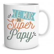 Mug message Le mug du Super papy