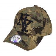 Casquette NY Chasse camouflage kaki