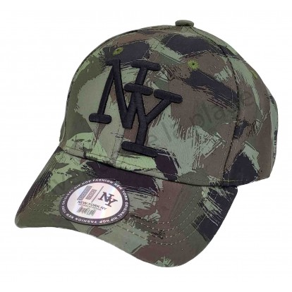 Casquette NY hunter camouflage vert