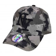 Casquette enfant NY Chasse camouflage gris